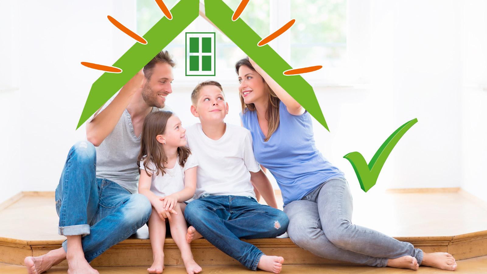 Der Gebaeudeenergieberater Familie